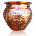 Copper Water Vessel Small -