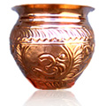 Copper Water Vessel Large -
