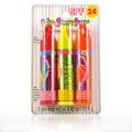 Lip Smacker SPF 24 Strawberry Splash, Lemon Lime Rush & Cool Strawberry Orange -
