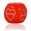 Red Valentine's Light Up Dice -