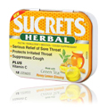 Sucrets Herbal Honey Lemon Ginseng -