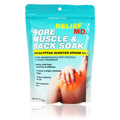 Relief MD Sore Muscle & Back Soak Eucalyptus Epsom Salt -