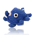Blue Octopus Loofah & Terry Bath Buddies