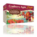 Herb Tea Cranberry Apple Zinger with Vitamin C -