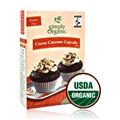Cocoa Cayenne Cupcake Mix, Certified Organic, Fair Trade Certified