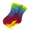 Children's Socks Tie Dye Youth Crew Singles Youth 2 8-9 years -