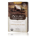 Black Tea Blend Puerh Organic Chocolate Tea  -