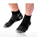 Socks Short Black Urban Hiker Size 10-13 -
