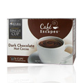 Gourmet Single Cup Coffee Dark Chocolate Hot Chocolate