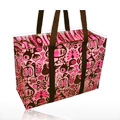 Shoulder Totes Pink & Brown 11'' x 15'' -