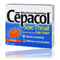 Sore Throat Citrus Flavor -