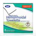 Medicated Hemorrhoidal Towellete -