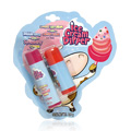 Bubble Gum w/Strawberry & Cookies n Cream w/Cherry Lip Balm -