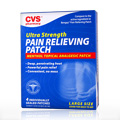 Ultra Strength Pain Relieving Patch -