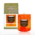 Clarity Orange Pillar Candle -