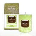 Verbena Lime Green Pillar Candle -