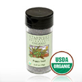 Organic Poppy Seed Jar -