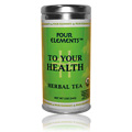 To Your Health Herbal Tea Tin -