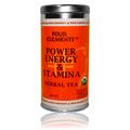 Power, Energy, & Stamina Tea Blend Herbal Tea Tin -