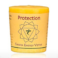 Candle, Votive, Protect, Yellow -