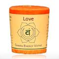 Candle, Votive, Love, Orange -