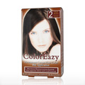 ColorEazy Permanent Cream Hair Color 2 Dark Brown -