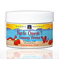 Nordic Omega 3 Gummies Worms Strawberry -