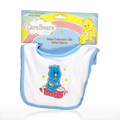 Infant Embroidery Bib Blue -