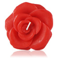 Red Rose Candle -