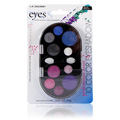 10 Color Eyeshadow Palette Brights -