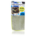 2 Way Cleaning Towel Green -