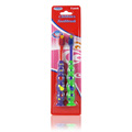 Children's Toothbrush Green & Purple -