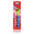 Children's Toothbrush Pink & Blue -