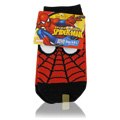 Boys Spider Man Socks Red -