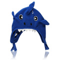 Animal Fleece Hat Shark -