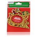 Holiday Photo Frame Sleigh Ornament -