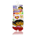 Dora The Explorer Socks Red & White -