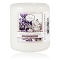 White Lilac & Lavender Pillar Candle -