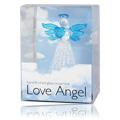 Love Angel Blue Heart & Wings -