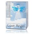 Love Angel Blue Heart & Wings -