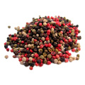 Organic Fair Trade Rainbow Peppercorns -