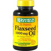 Organic Flaxseed Oil 1000mg -