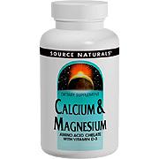 Calcium & Magnesium Chelate -