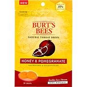Honey & Pomegranate Natural Throat Drops -