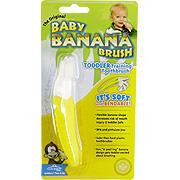 The ORIGINAL Baby Banana Brush Toddler Training Toothbrush -