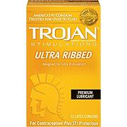 Trojan Ultra Ribbed -