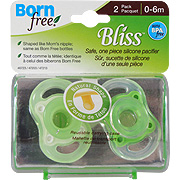 Bliss Button Pacifier Neutral -