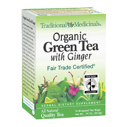 Organic Green Tea with Ginger -
