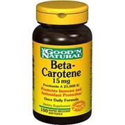 Beta Carotene Provitamin A 25000 IU -
