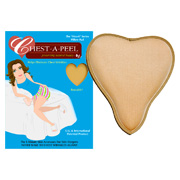 Chest-A-Peel Heart Pillow -